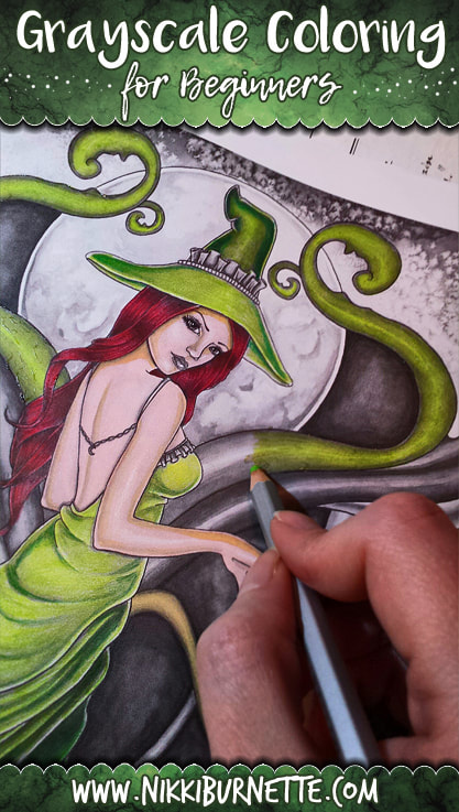 Learn what grayscale coloring is and how to get started with these easy tips and tricks!